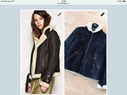 Стильная Куртка дубленка  Asos