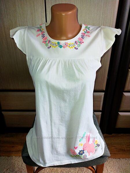 Красивая футболка/блузка LC Waikiki на девочку 9-12 лет