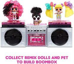 L. O. L. Surprise ЛОЛ ремикс Remix HairFlip Reveal & Music кукла и питомец