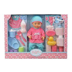 Большой подарочный набор My sweet baby кукла пупс с аксессуарами
