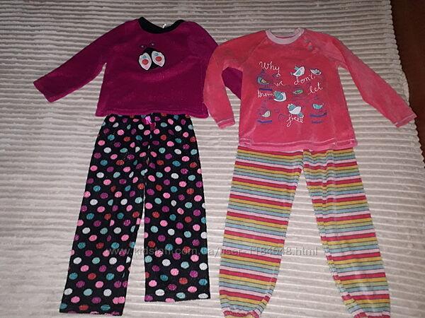 Теплые пижамки на 4-6лет