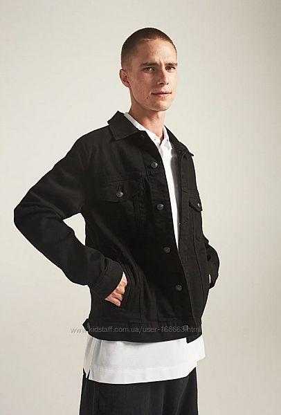 Мужская джинсовая куртка от ZARA, L, XL, оригинал, Испания