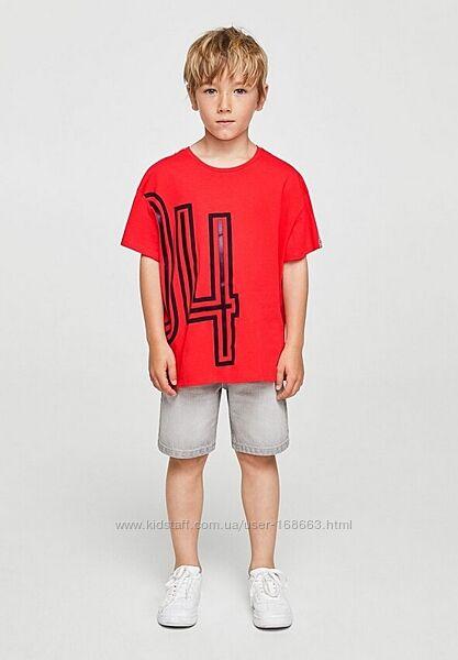 Детская футболка с 3Д рисунком от Mango, 5-6 лет, оригинал, Испания