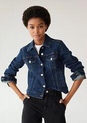 Джинсовая куртка от Mango, XS, оригинал, Испания