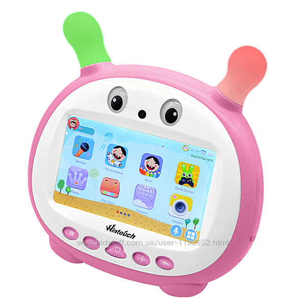 Детский планшет Wintouch K79 с двойным караоке-микрофоном