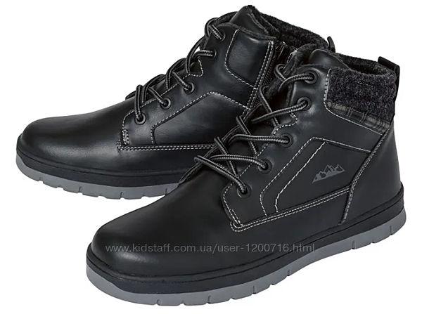 Ботинки, размеры 32, 34 демисезон новые черные