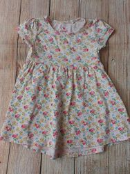 Туника платье на девочку next 1,5-2года.