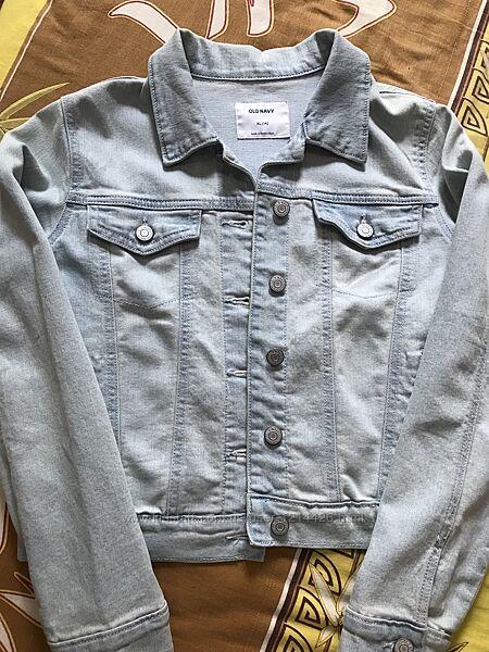 Джинсовый пиджак на девочку Old navy р. ХЛ14
