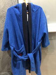 Махровый халат на мальчика р.104