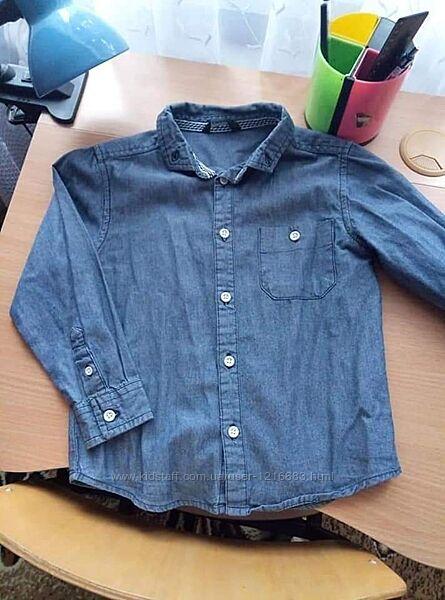 Рубашка тонкий котон