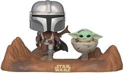 Фигурка Funko Pop Star Wars Mandalorian  Мандалорец и Малыш Йода