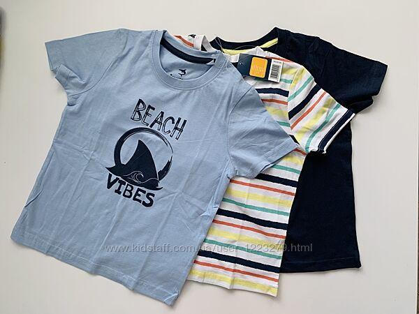 Комплект футболок Lupilu футболка для мальчика 2-4г 98-104