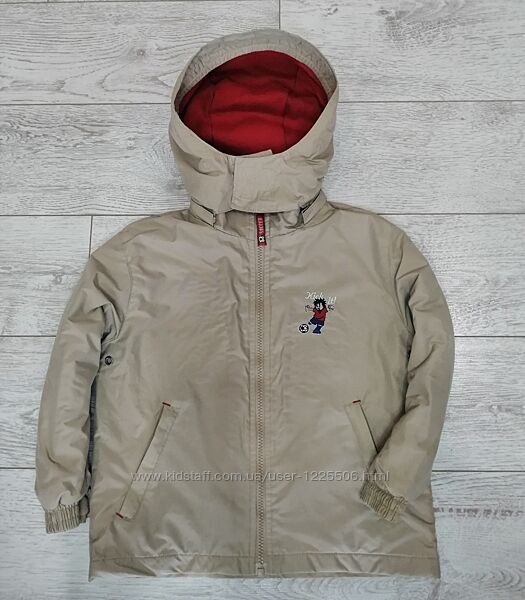 Демисезонная куртка palomino мальчику 4-5лет