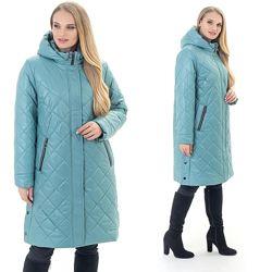 Женские демисезонные куртки больших размеров. Качество отличное.