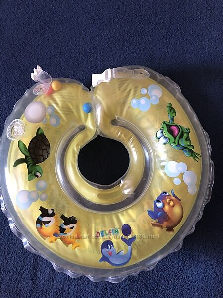Круг delfin для новорождённого