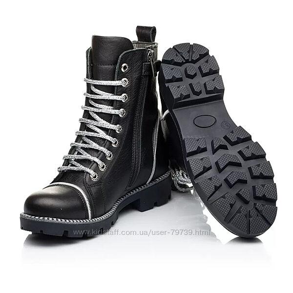 Зимние ортопедические ботинки на меху детские Woopy Fashion