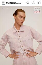 Очень стильный джинсовый пиджак Mango, новый.