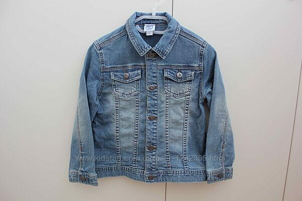 Джинсовая куртка пиджак Chicco р.110
