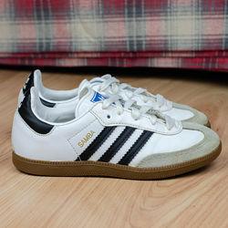 Кожаные кроссовки кеды Adidas Samba CL K Оригинал 31р. 20 см.