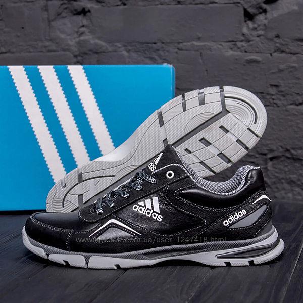 Мужские кожаные кроссовки Adidas Tech Flex 510