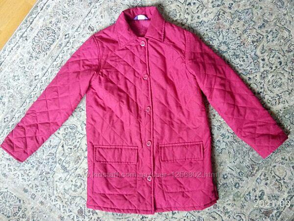 Куртка легкая удлиненная/ размер XS-S