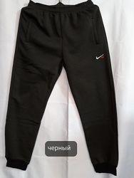 Спортивные штаны  на флисе  батал новые в наличии