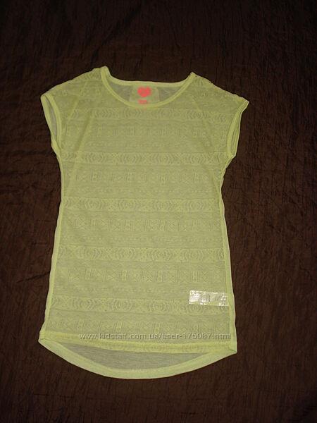 футболка лимонная
