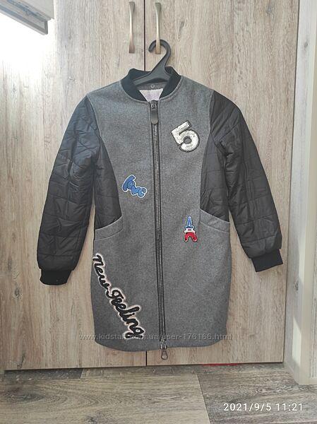 Куртка пальто осеннее 146 рост