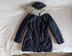 Легкая Деми парка куртка пальто Dorothy Perkins, р. М 46 10, черная.