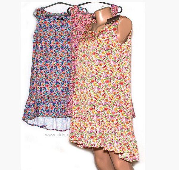 Модне плаття з воланом внизу M, L
