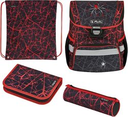 Ранец Herlitz Loop Plus Spider Паук укомплектованный