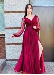 Нарядное вечернее выпускное платье 42-50р