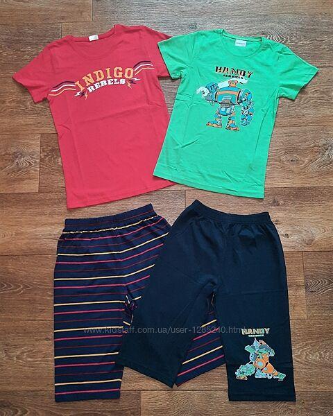 Пижама для мальчика футболка бриджи шорты. Турция.