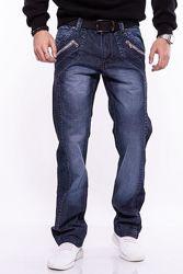 Классические базовые джинсы прямого кроя
