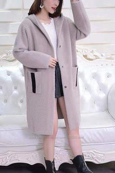 Пальто из альпаки