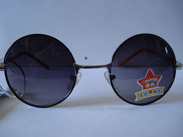 Круглые стильные очки с поляризацией
