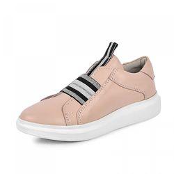 Кожаные кроссовки Maxus 1959 розовая пудра