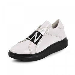Кожаные кроссовки Maxus 1959 белая лак кожа