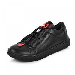 Кожаные кроссовки Maxus 1966 черная кожа