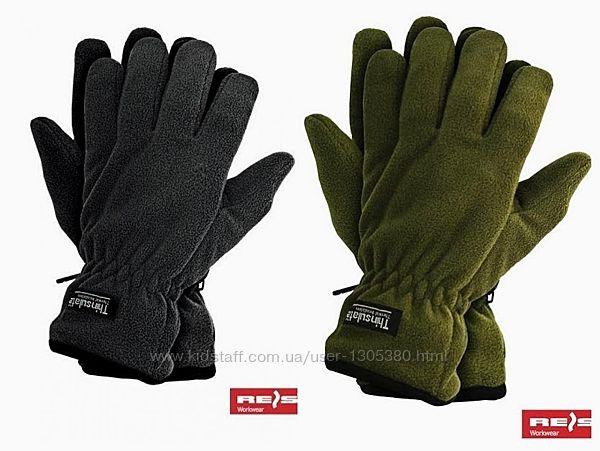 Зимние перчатки флисовые RTHINSULPOL фирмы Reis Польша