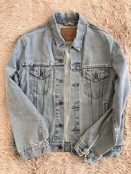 Джинсовая куртка levis джинсовка levis левайс оригинал сток