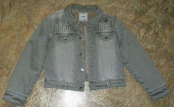 Утепленная джинсовая куртка Mayoral р-р 128