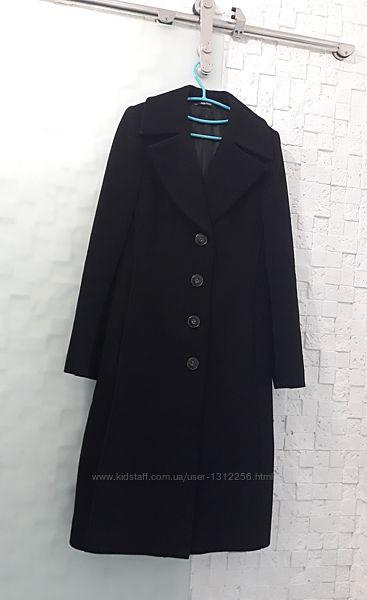 Пальто кашемировое черное Stella Pollare, Р. 42-46