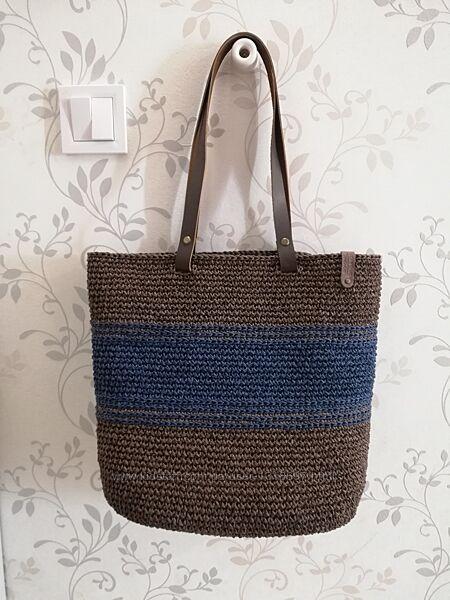 Сумка шоппер, пляжная сумка