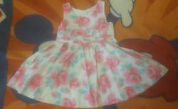 Нежное платьице 1-1,5 года красивое платье,80-86на малышку