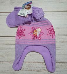 Набор шапка и варежки Холодное сердце Эльза Childrens place 6мес-2 года