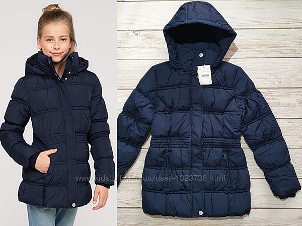 Зимняя удлиненная куртка для девочки C&A Here&There 152, 164, 170
