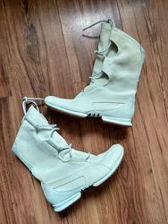 Фирменные замшевые ботинки кроссовки Puma mahanuala