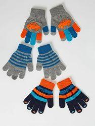 Перчатки детские сенсорные яркие