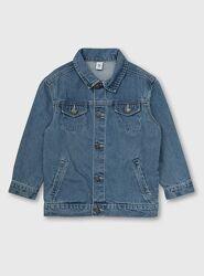 Джинсовая куртка Англия на мальчика 7-8-9-10-11 лет